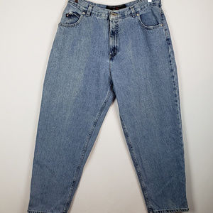 Mission Blues Womens Vintage Mom Jeans Light Wash